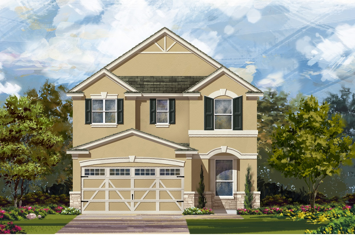 New Homes in Hutto, TX - Plan F-2411 J
