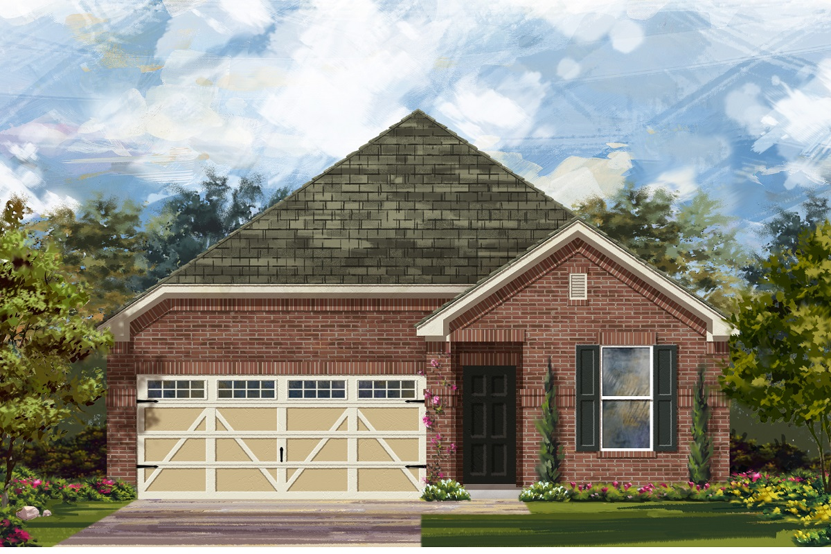 New Homes in Hutto, TX - Plan E-1647 H