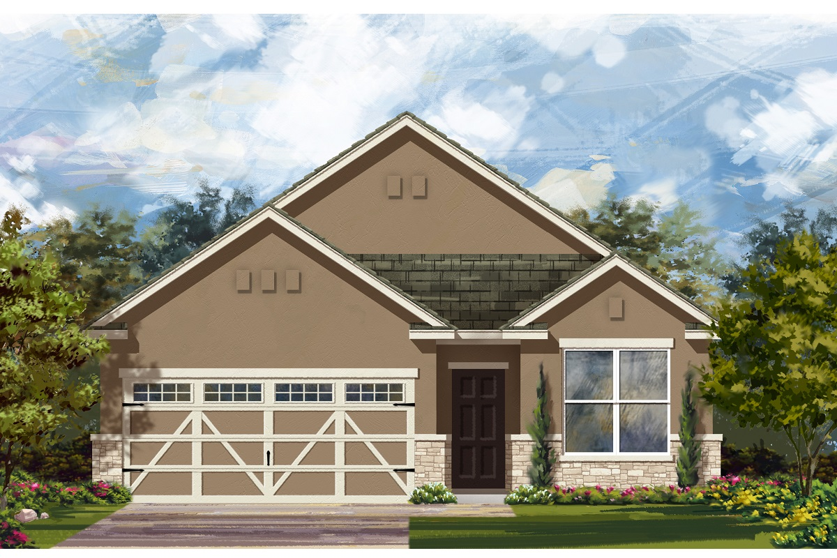 New Homes in Hutto, TX - Plan E-1647 K