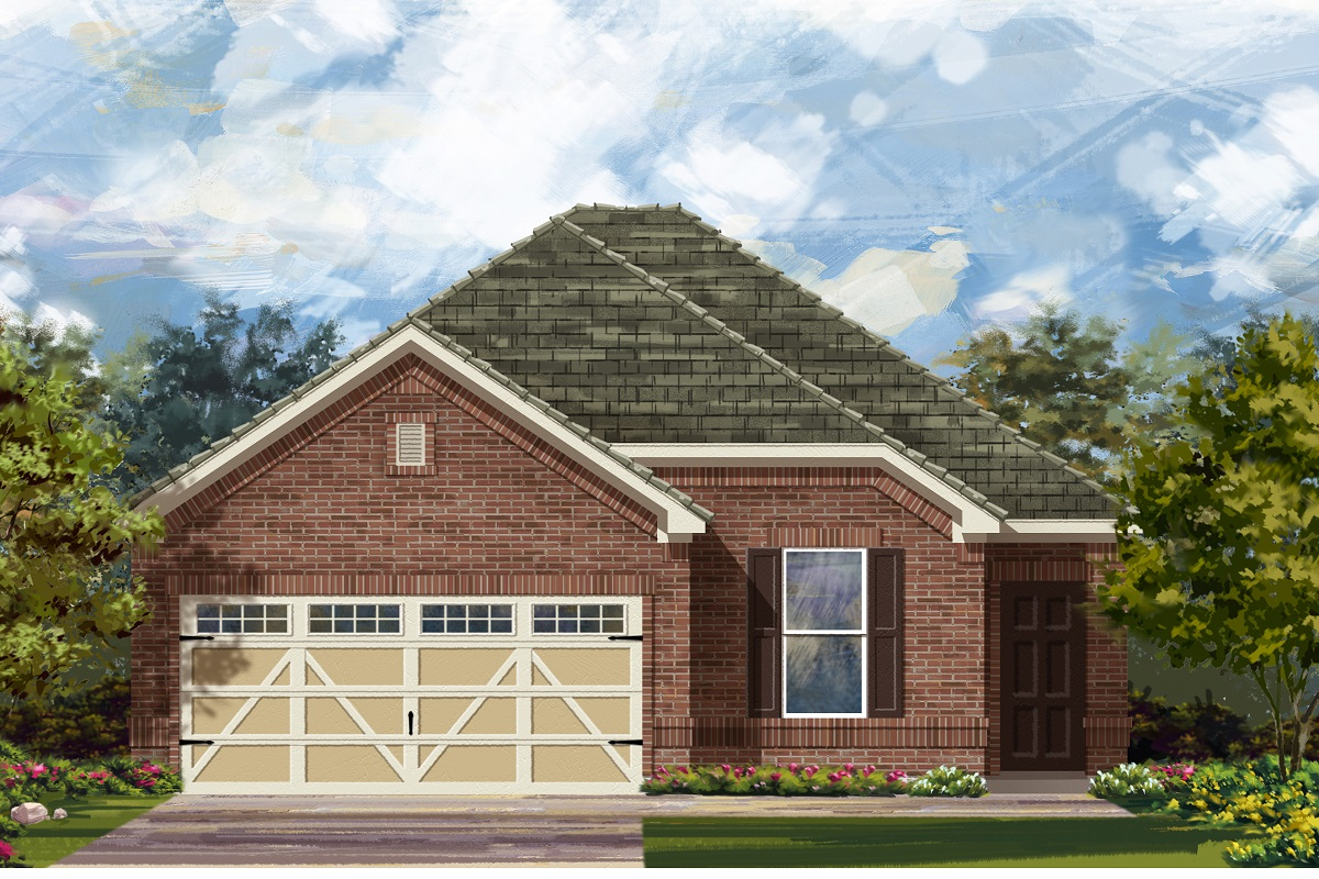 New Homes in Hutto, TX - Plan E-1694 H