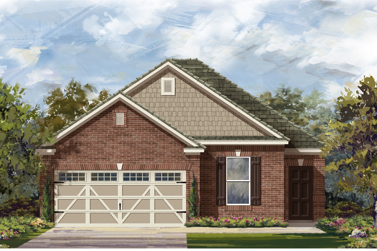 New Homes in Hutto, TX - Plan E-1694 I