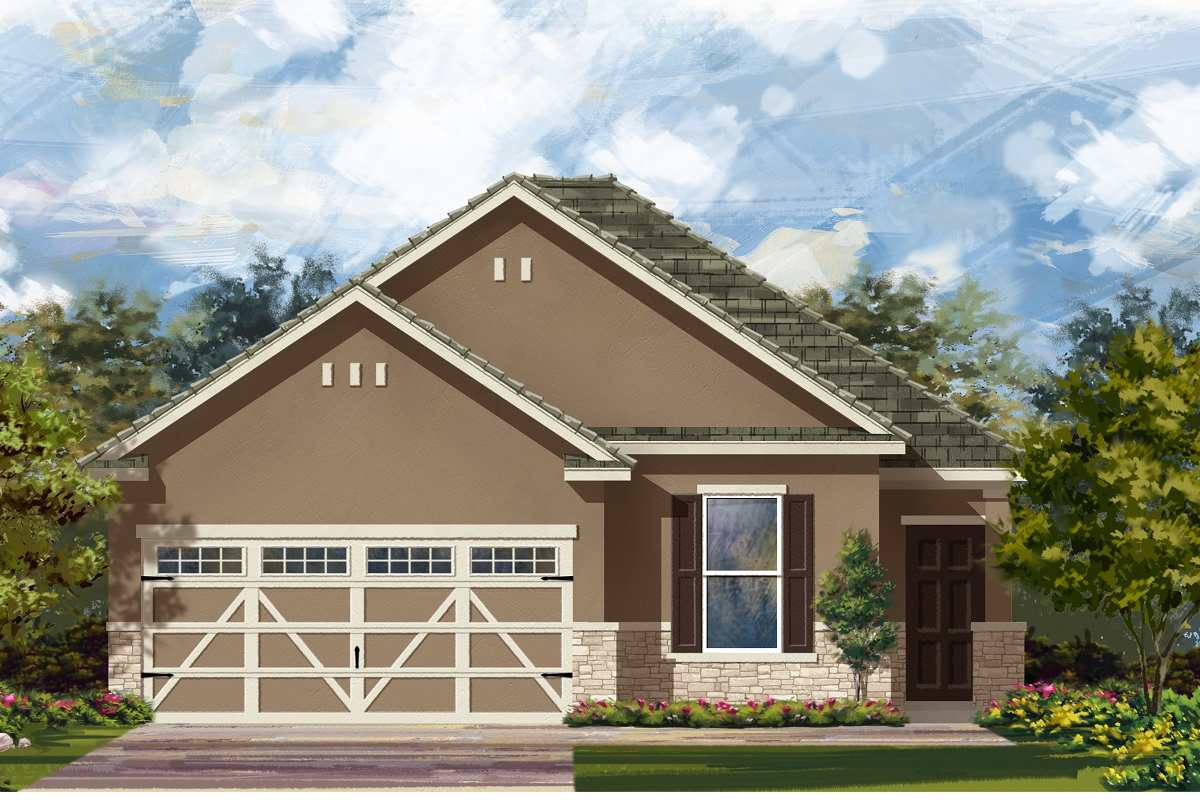 New Homes in Hutto, TX - Plan E-1694 K