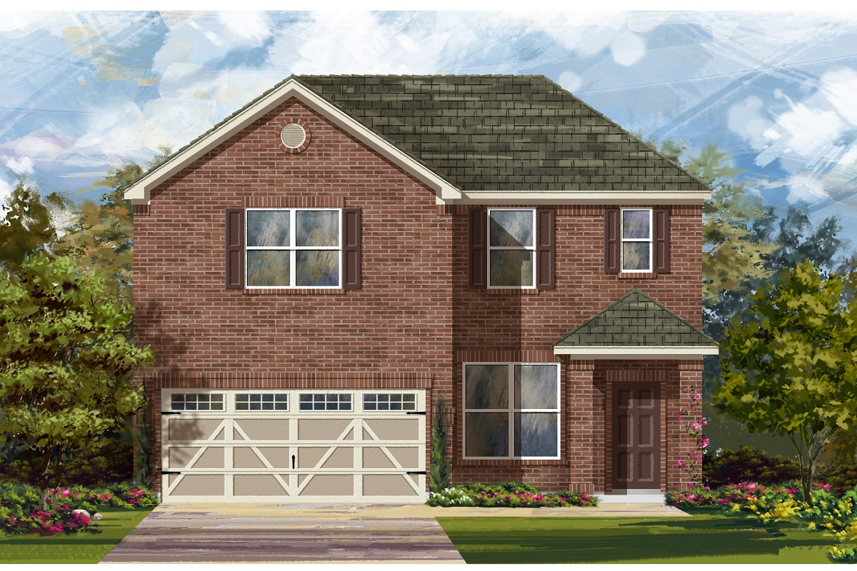 New Homes in Hutto, TX - Plan E-2177 H