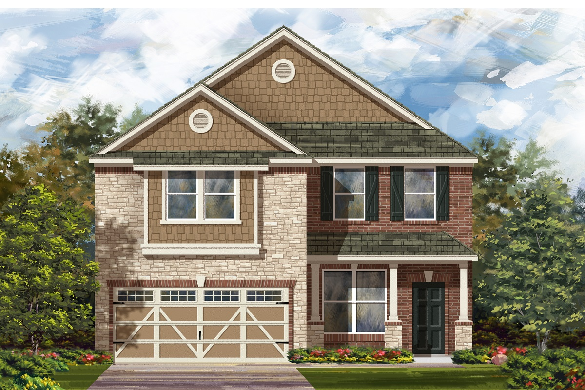 New Homes in Hutto, TX - Plan 2177