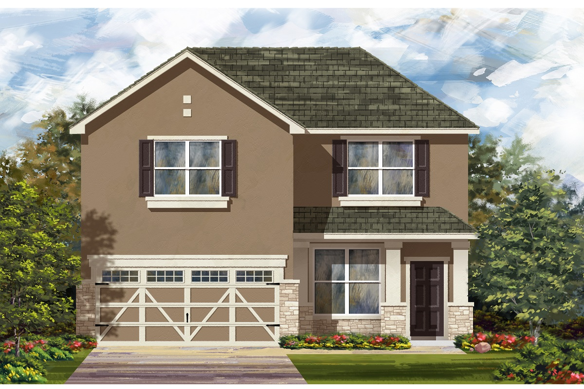 New Homes in Hutto, TX - Plan E-2177 K