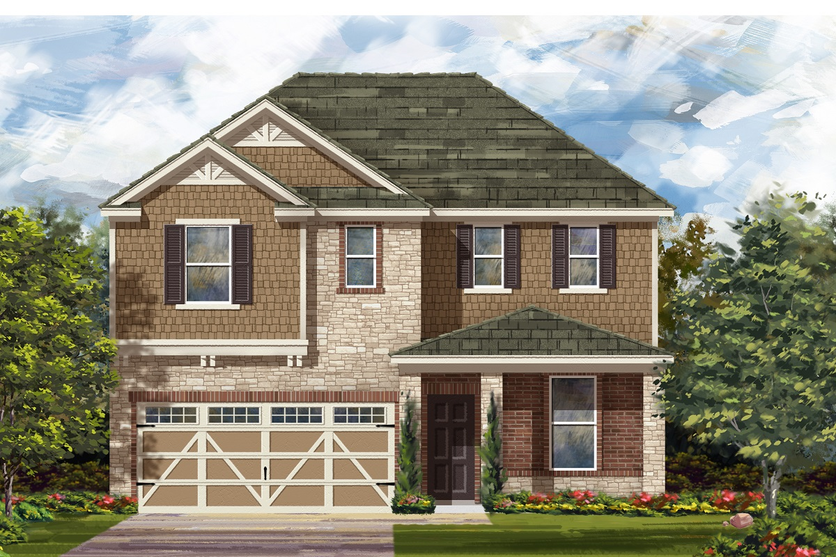 New Homes in Hutto, TX - Plan 2403