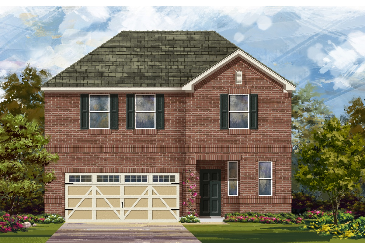 New Homes in Hutto, TX - Plan E-2412 H