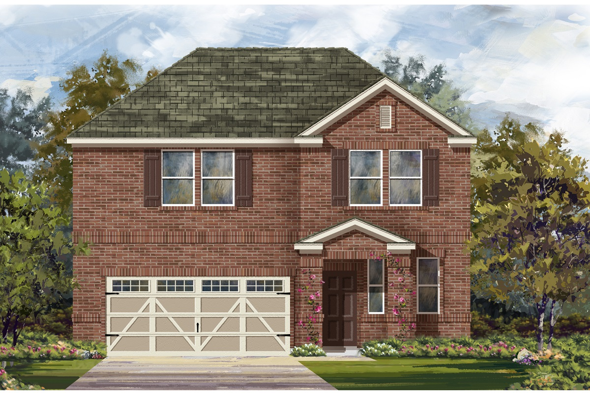 New Homes in Hutto, TX - Plan E-2412 I