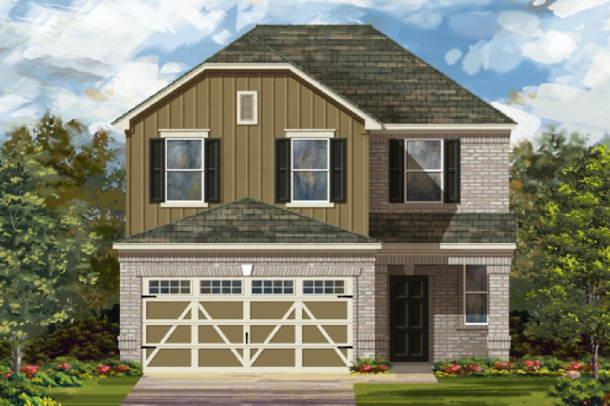 New KB quick-move-in homes available at Villas at Star Ranch in Hutto, TX.  is one of many quick-move-in homes to choose from.