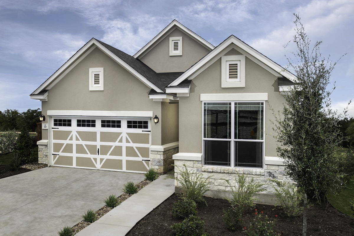 New Homes in Hutto, TX - Villas at Star Ranch Plan E-1647