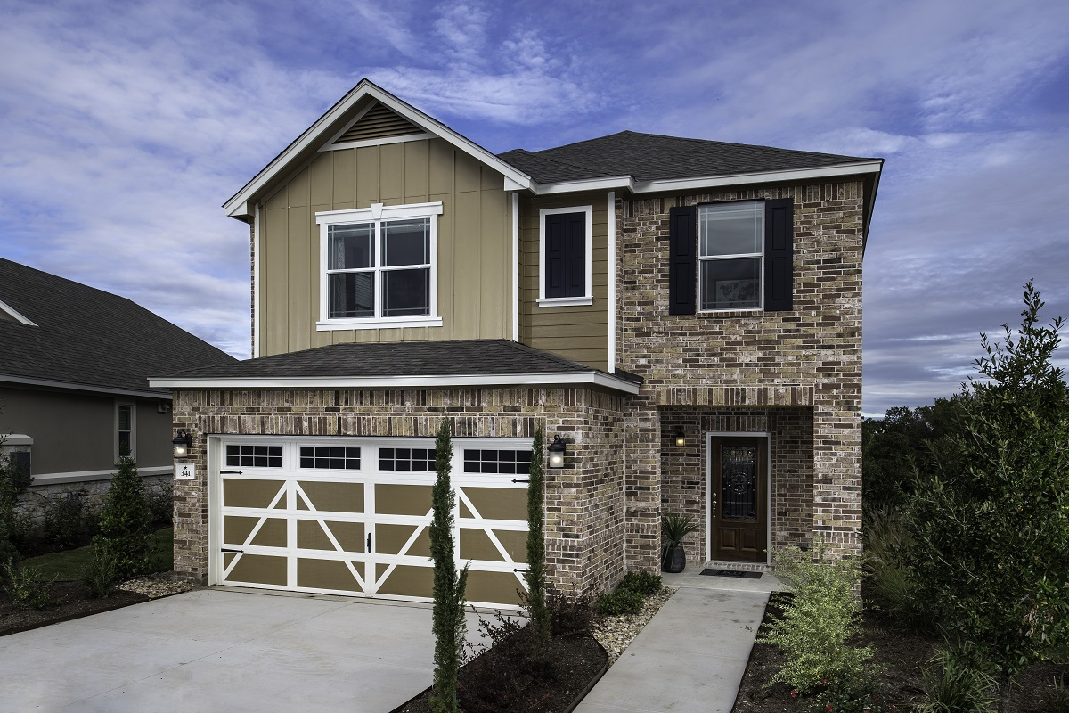 New Homes in Hutto, TX - Villas at Star Ranch Plan F-2038