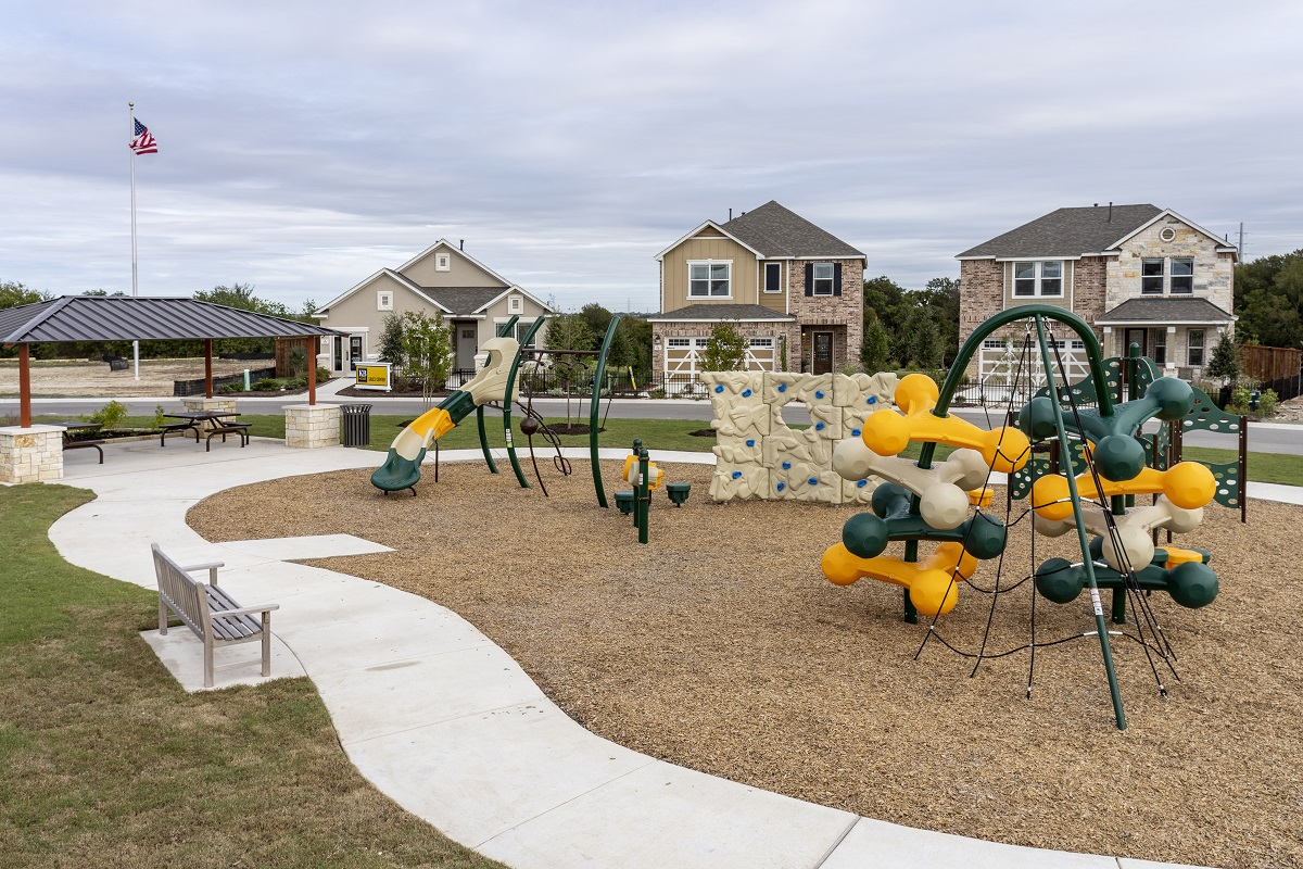 New Homes in Hutto, TX - Villas at Star Ranch Community Park