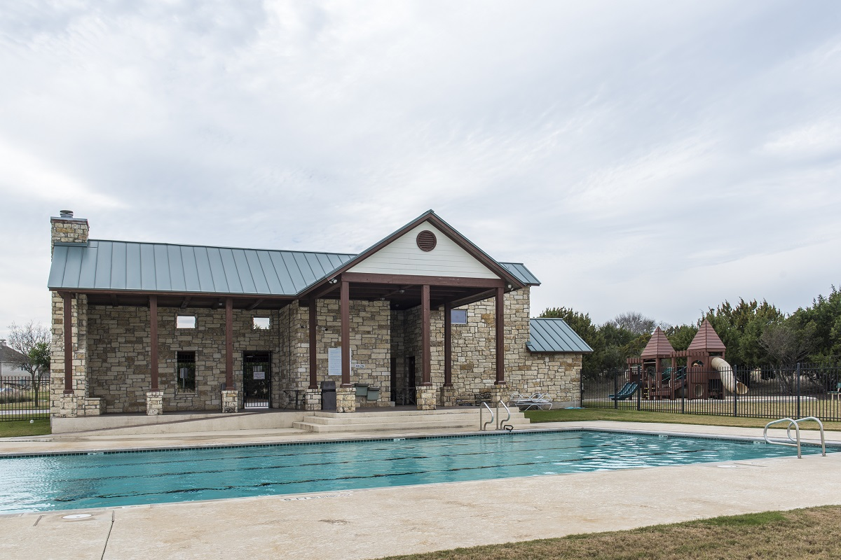 New Homes in Hutto, TX - Villas at Star Ranch Community Pool