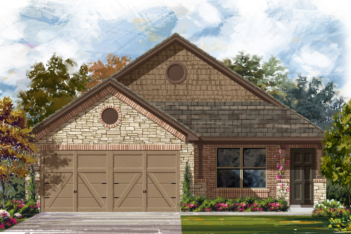 New Homes in Austin, TX - Plan 1516