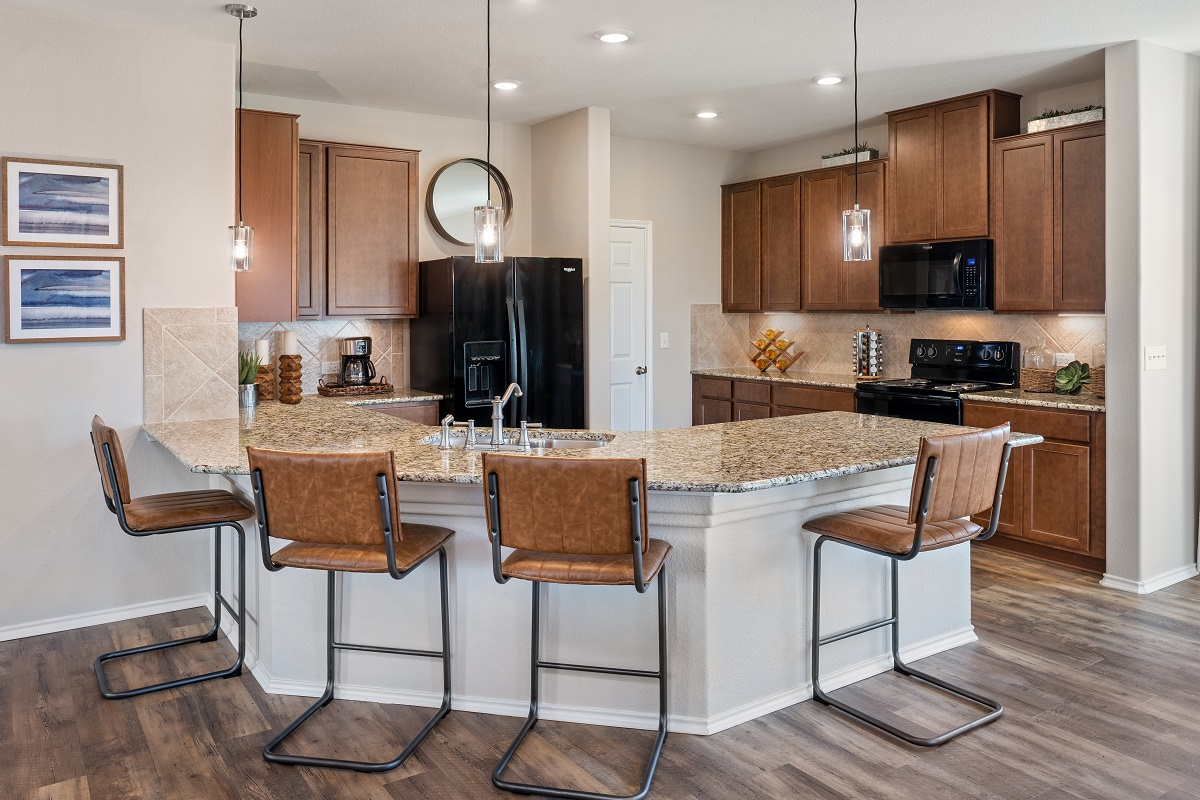 New Homes in Austin, TX - Willow Trace Plan 1647 Kitchen