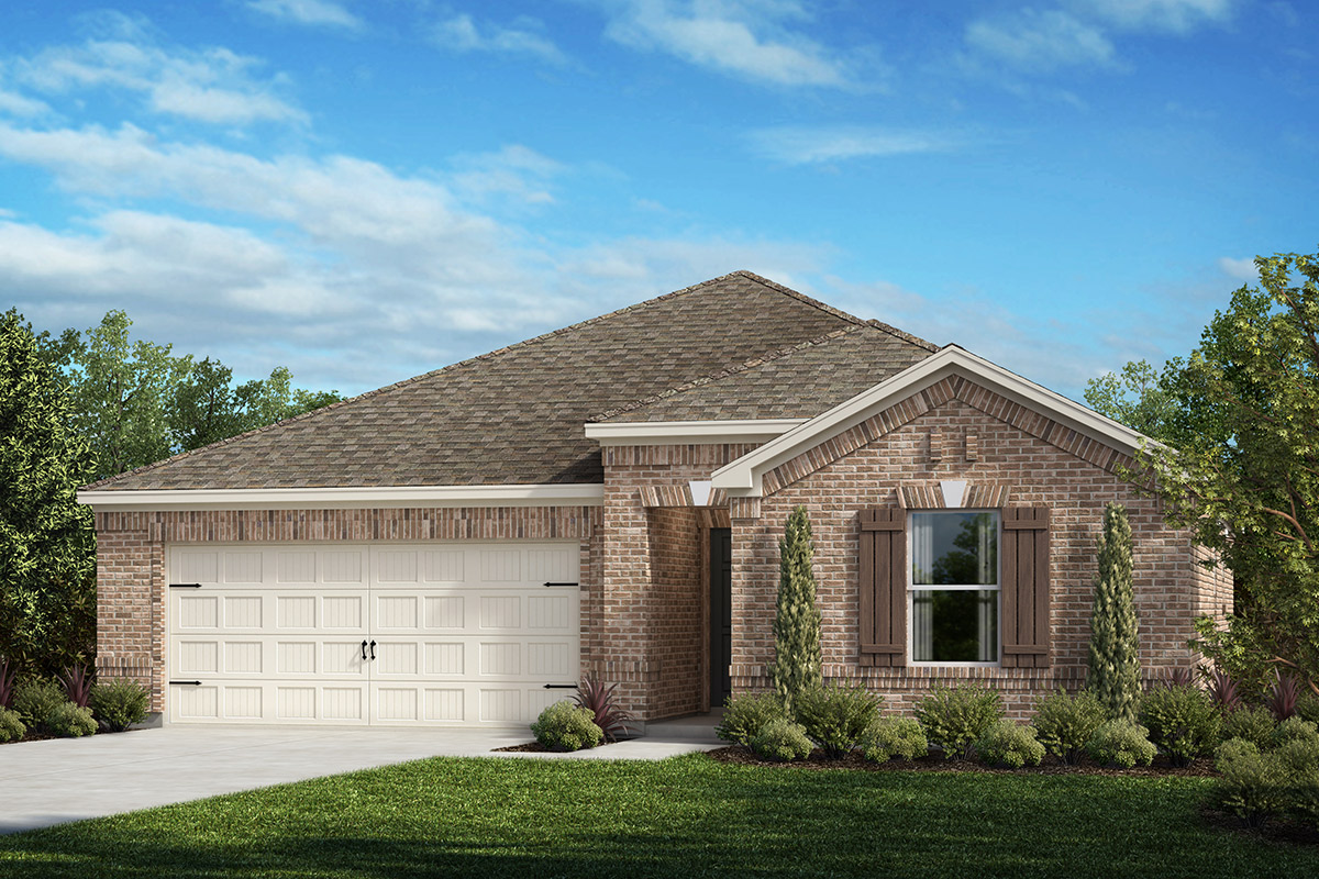 New Homes in Fort Worth, TX - Plan 1373
