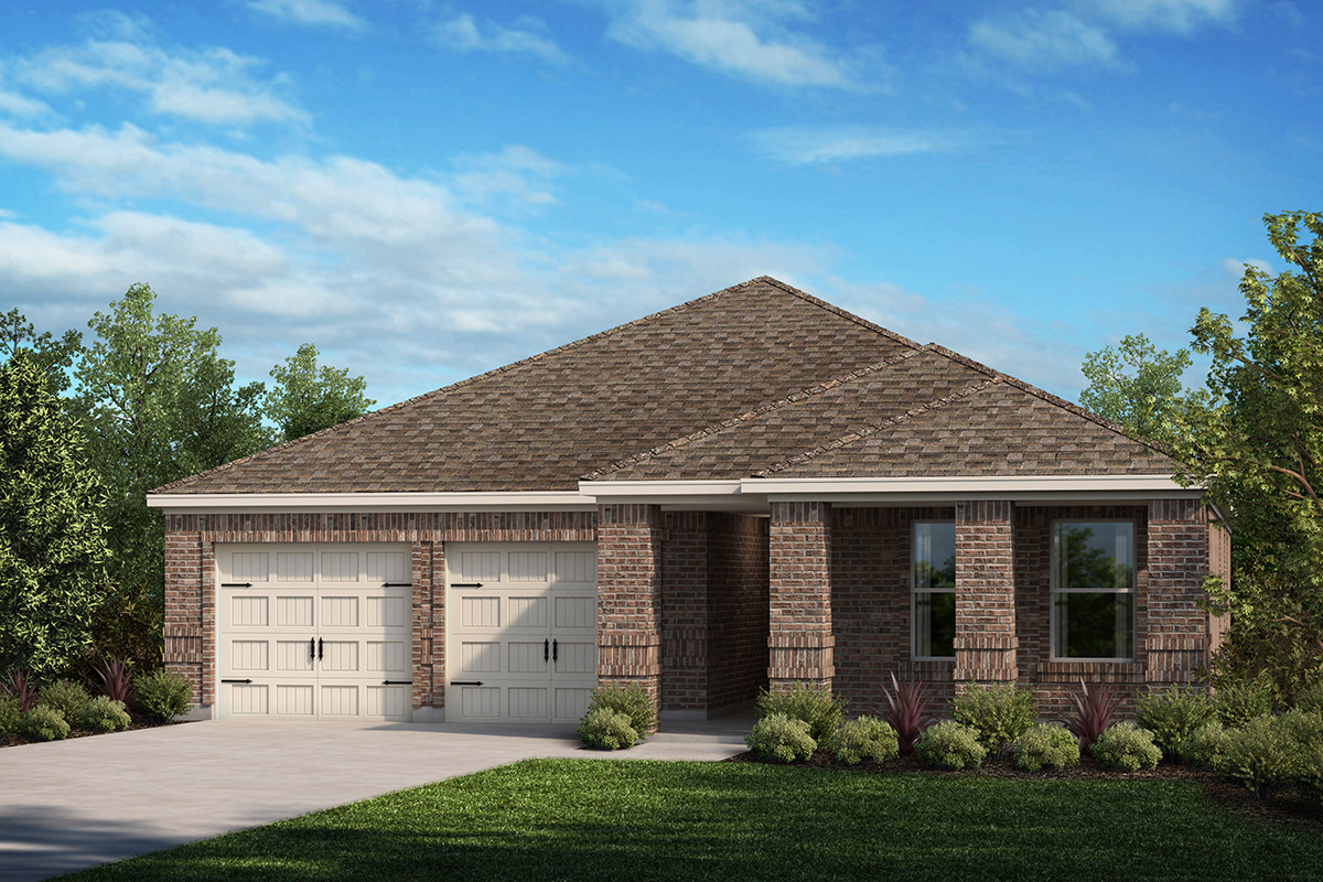 New Homes in Fort Worth, TX - Elevation D