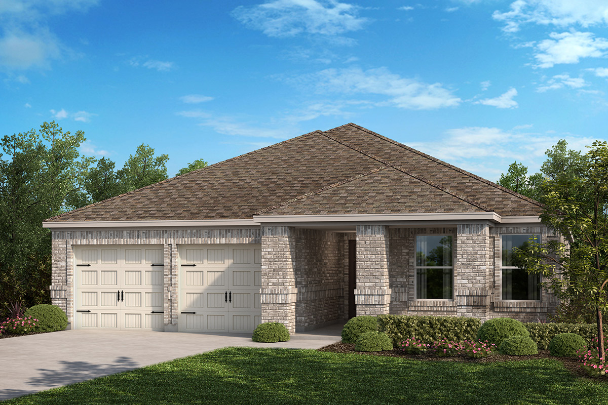 New Homes in Fort Worth, TX - Elevation E
