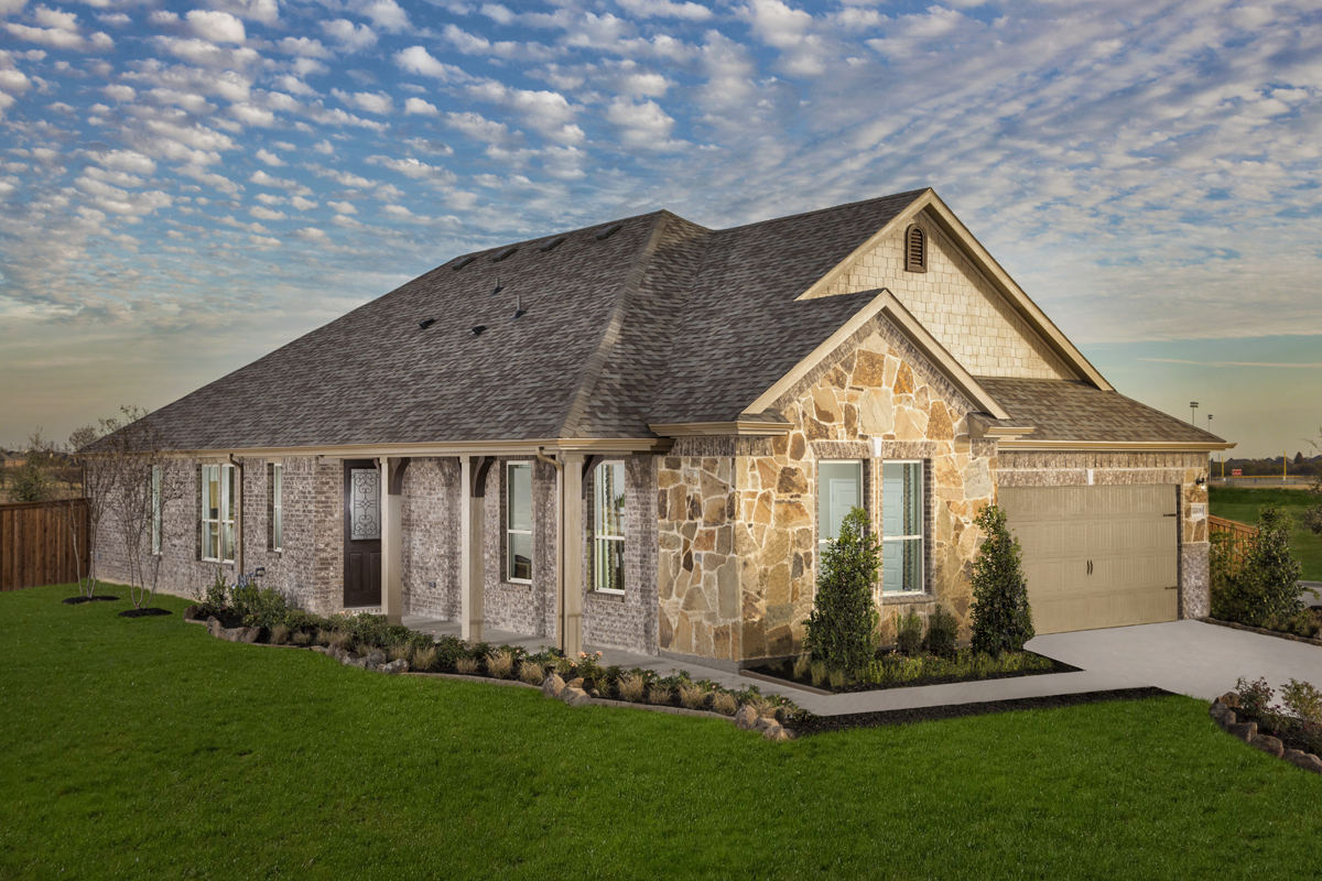 New Homes in Fort Worth, TX - Copper Creek Estates Plan 2085