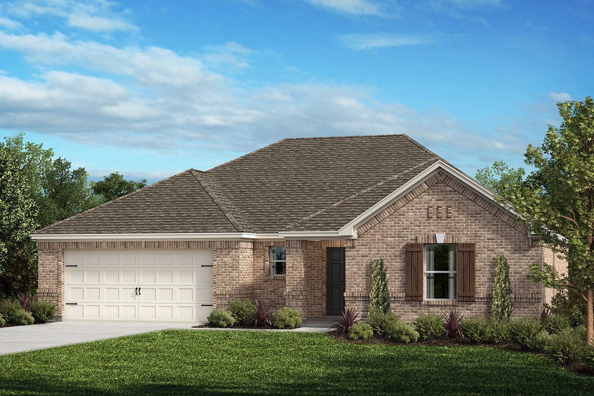 New Homes in Fort Worth, TX - Plan 2091