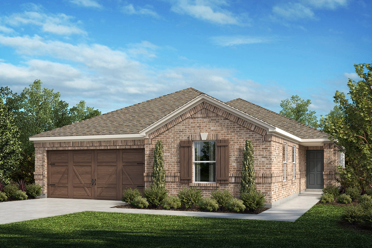 New Homes in Celina, TX - Plan 2085 Elevation A