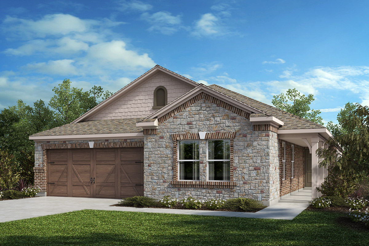 New Homes in Celina, TX - Plan 2085 Elevation C