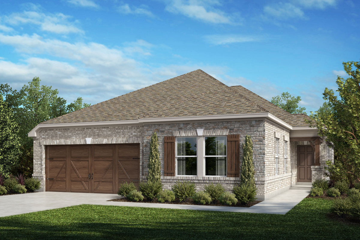 New Homes in Celina, TX - Plan 2085 Elevation D