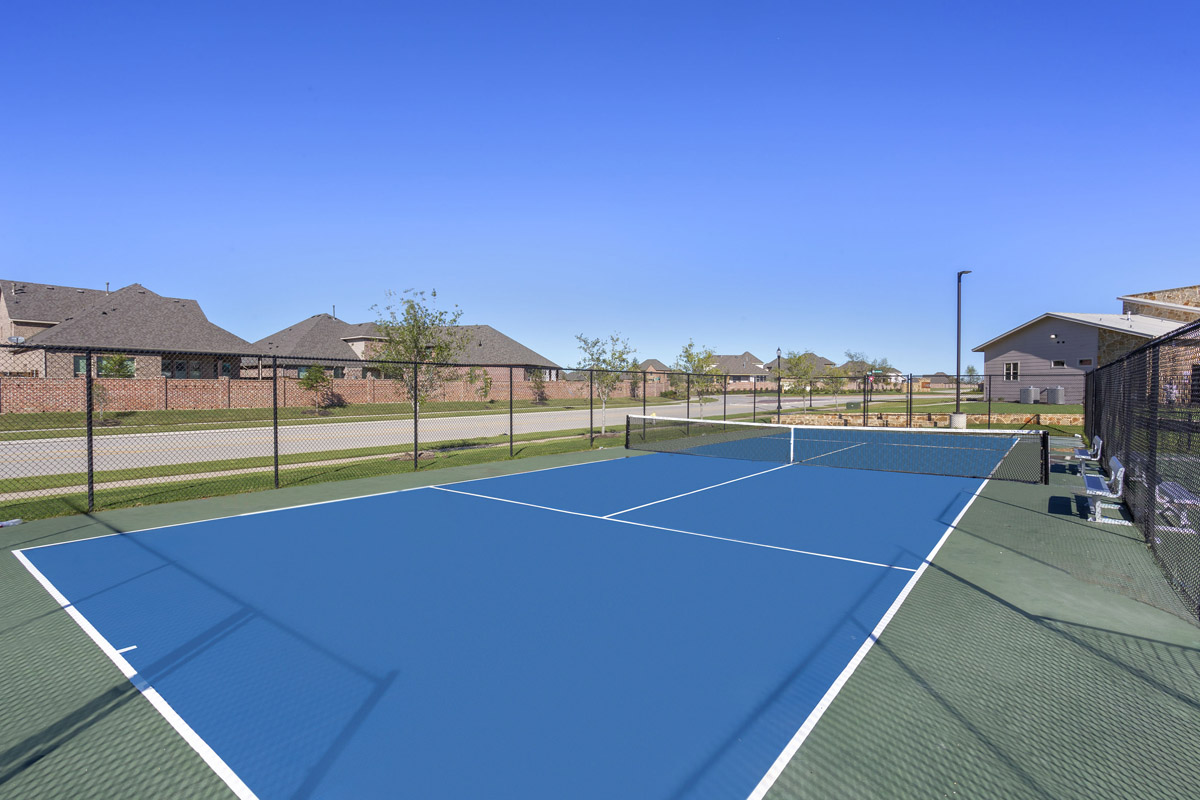 New Homes in Celina, TX - Creeks of Legacy Community Tennis Court