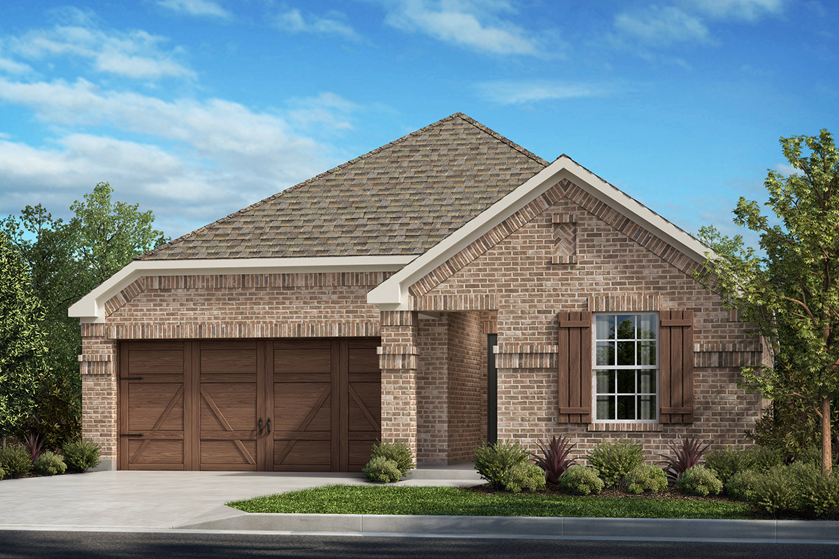 New Homes in Allen, TX - St. Andrews Park Plan 1647 Elevation A