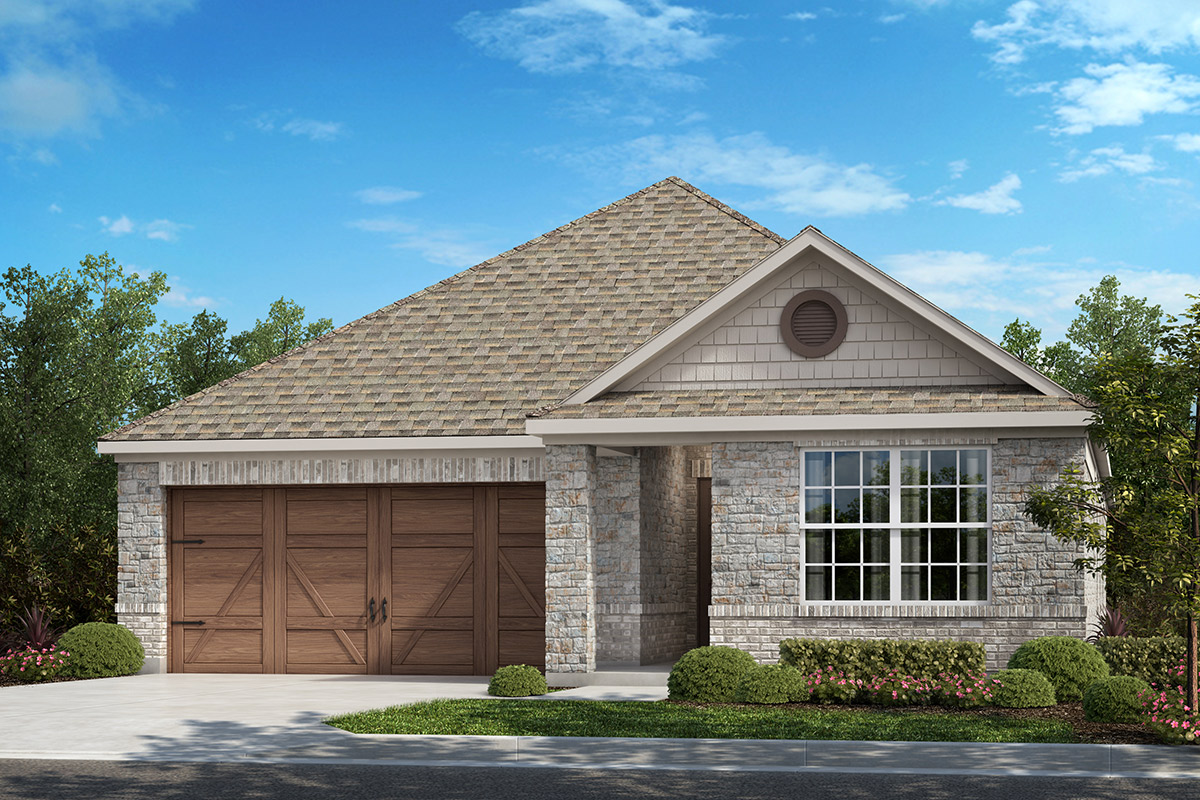 New Homes in Allen, TX - St. Andrews Park Plan 1647 Elevation B
