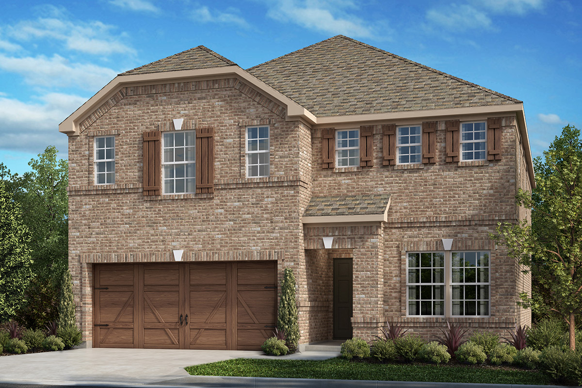 New Homes in Allen, TX - St. Andrews Park Plan 2467 Elevation A