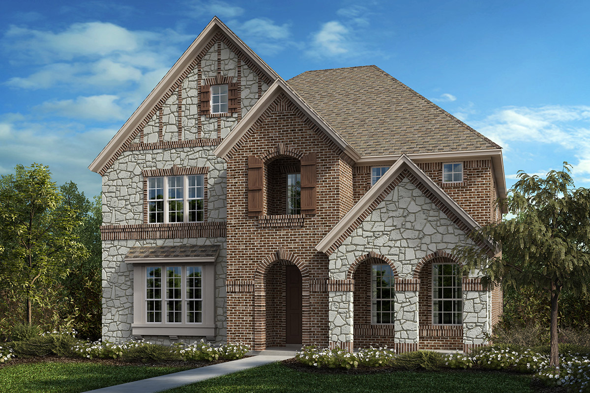 New Homes in Frisco, TX - Plan 3149 Elevation C