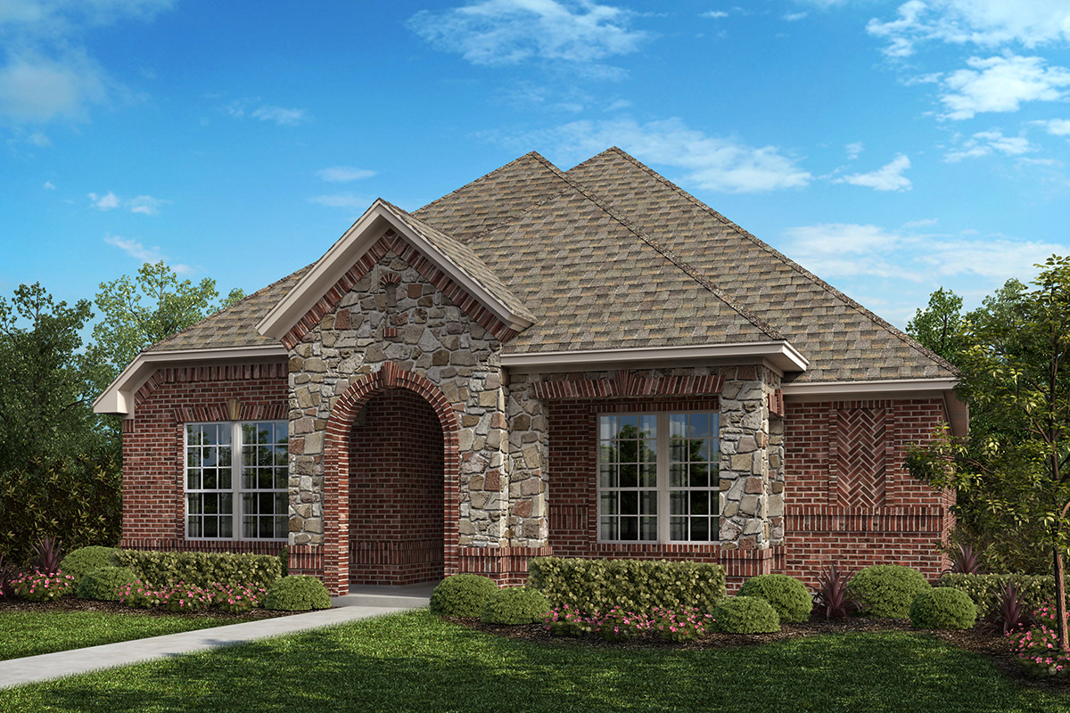 New Homes in Frisco, TX - Plan 1833 Elevation B