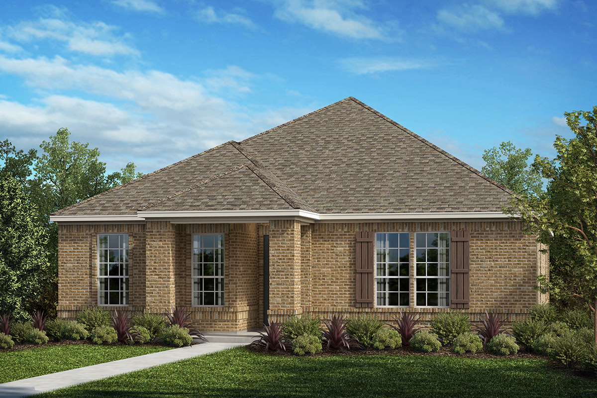 New Homes in Frisco, TX - Plan 1833 Elevation D