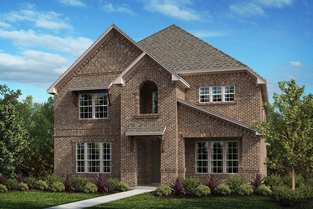 New Homes in Frisco, TX - Plan 3149 Elevation A