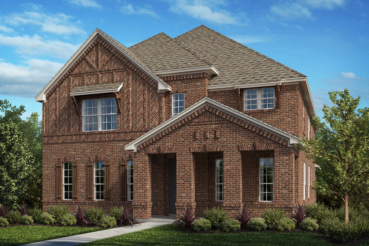 New Homes in Frisco, TX - Plan 3381 Elevation A
