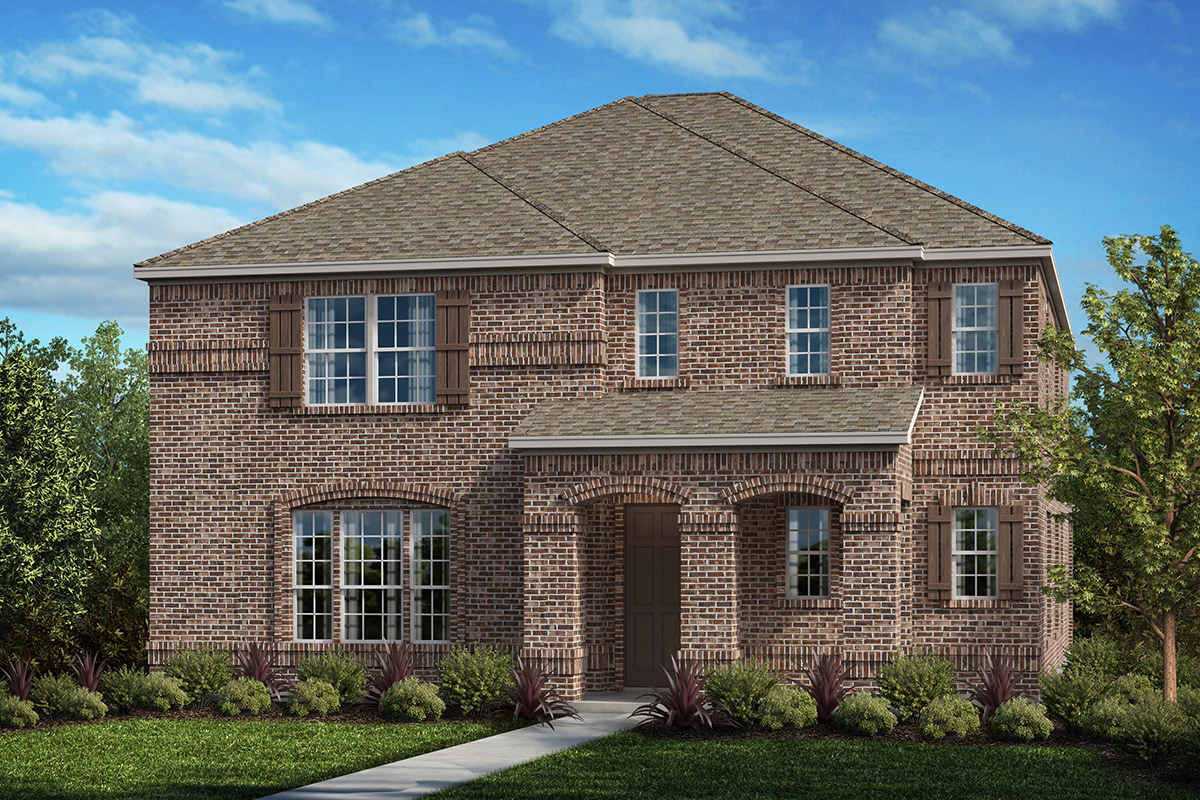New Homes in Frisco, TX - Plan 3381 Elevation D