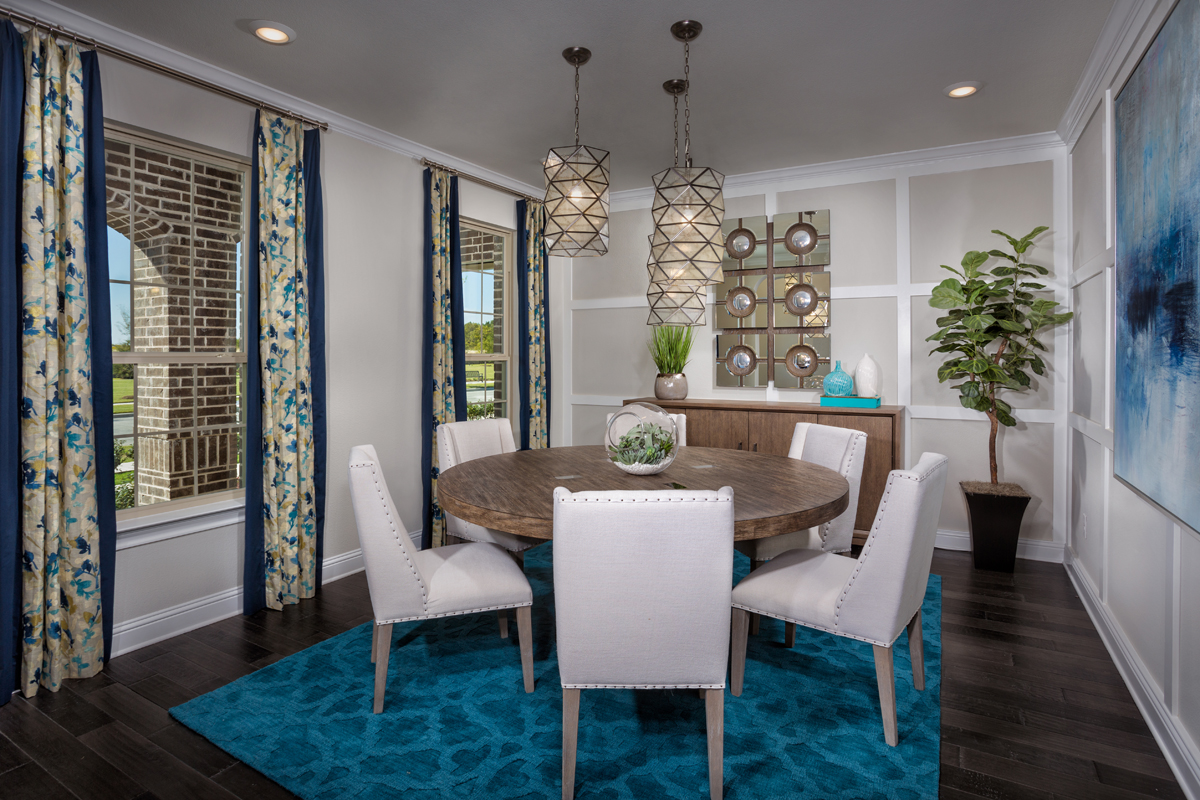 New Homes in Frisco, TX - Retreat at Stonebriar Plan 3149 Flex Room