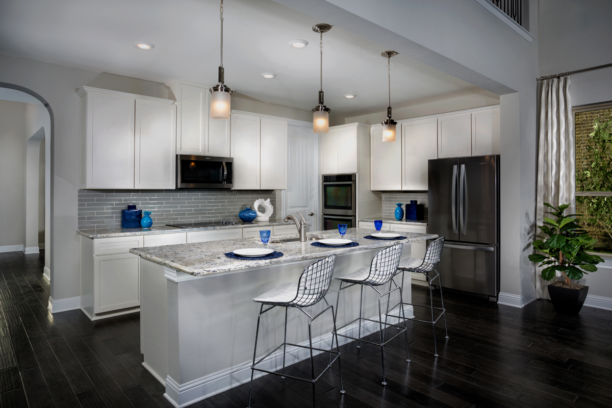 New Homes in Frisco, TX - Retreat at Stonebriar Plan 3149 Kitchen