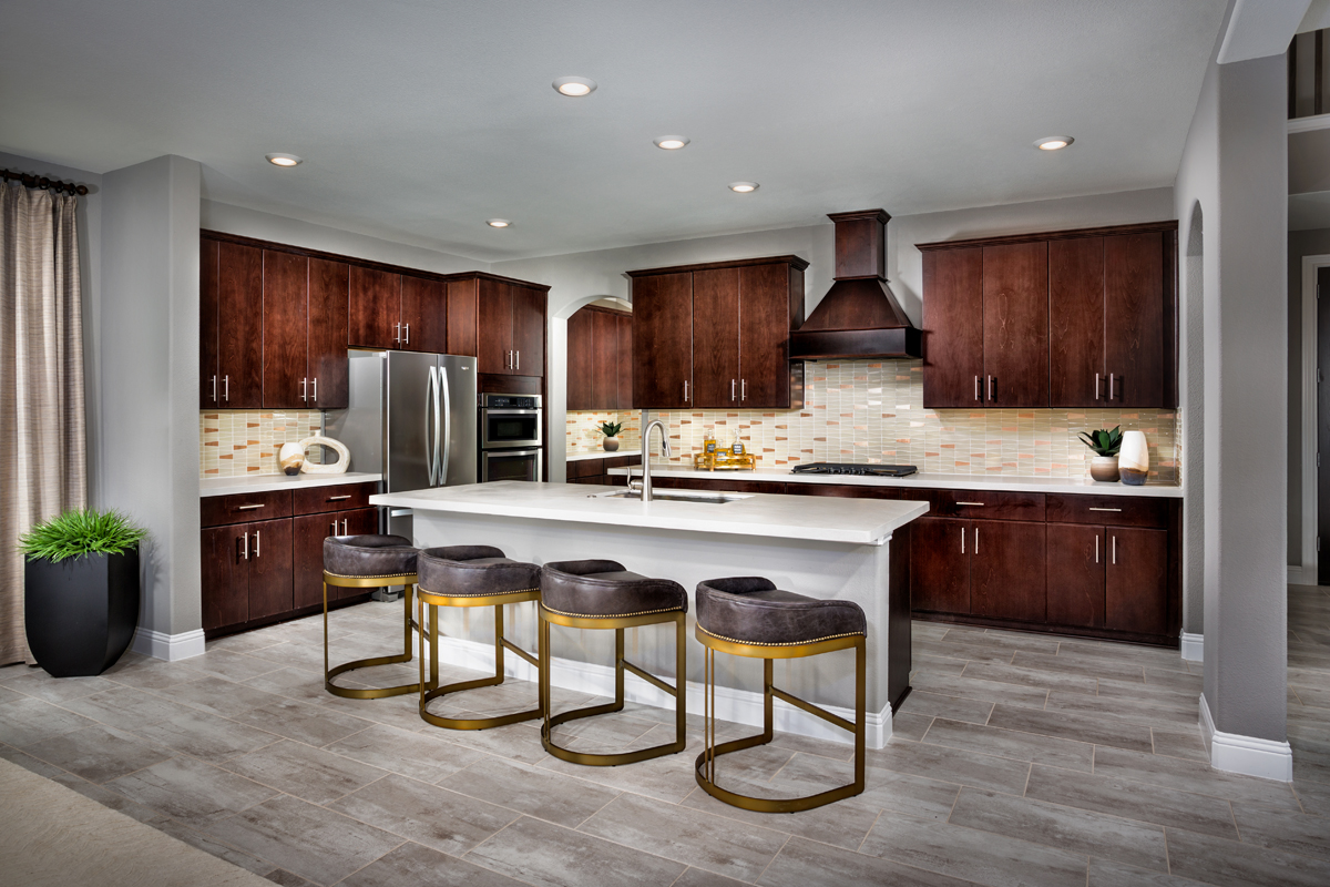 New Homes in Frisco, TX - Retreat at Stonebriar Plan 3301 Kitchen