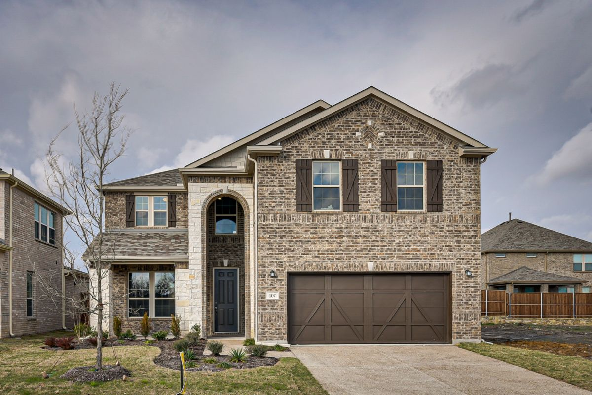 New KB quick-move-in homes available at St. Andrews Park in Allen, TX.  is one of many quick-move-in homes to choose from.