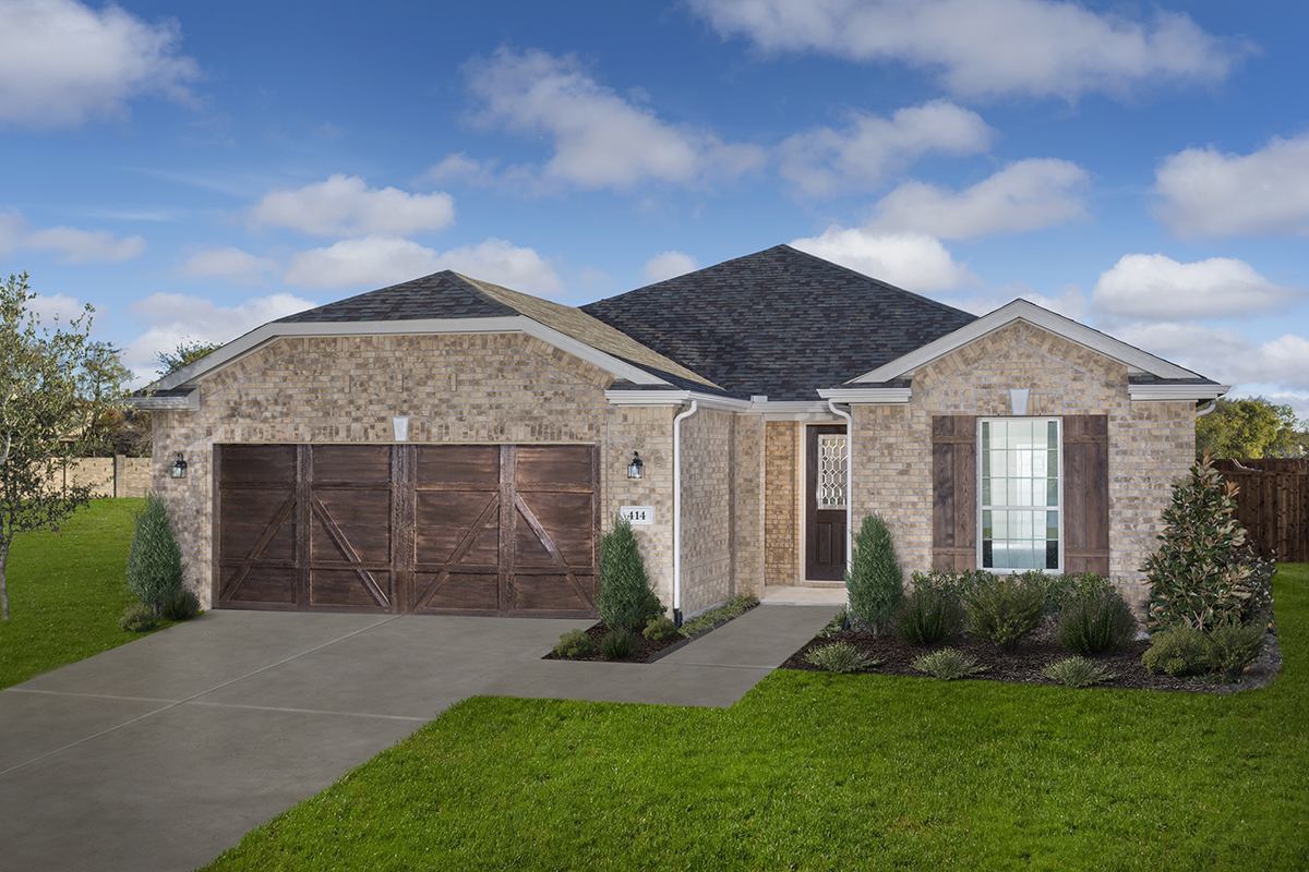 New Homes in Allen, TX - Plan 1813 Modeled