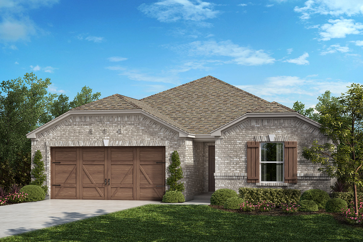 New Homes in Allen, TX - Plan 1709 Elevation B