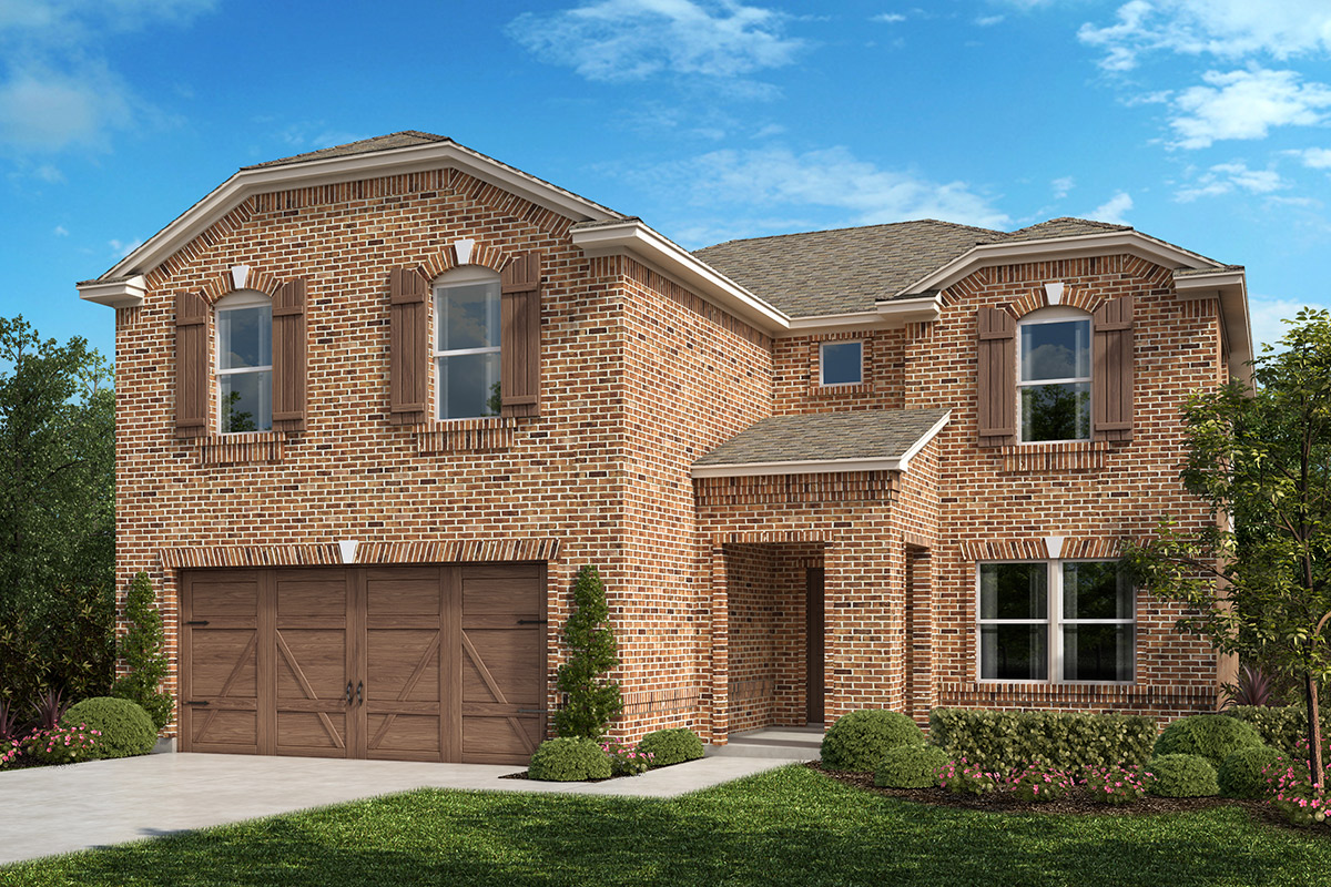 New Homes in Allen, TX - Plan 2535 Elevation B