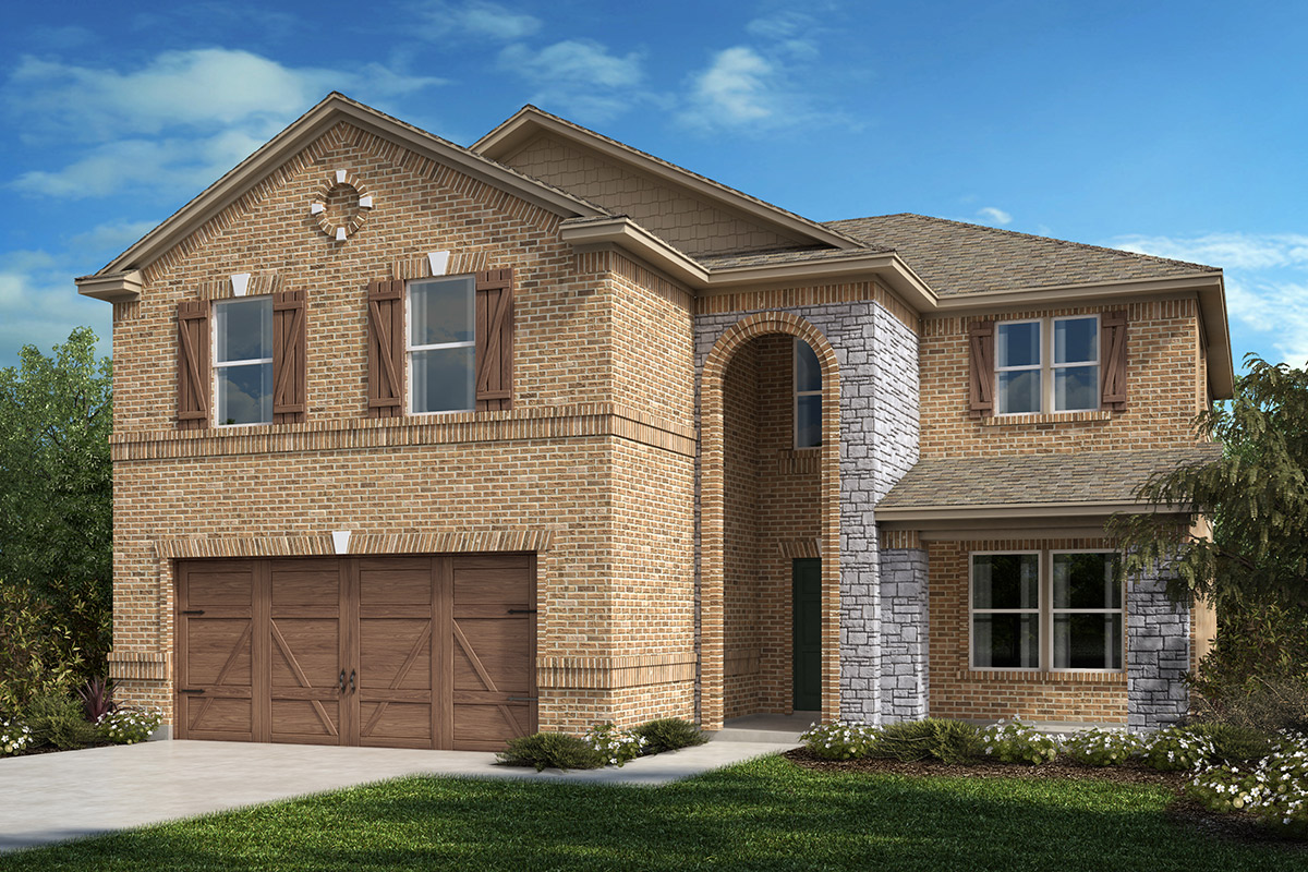 New Homes in Allen, TX - Plan 2535 Elevation C