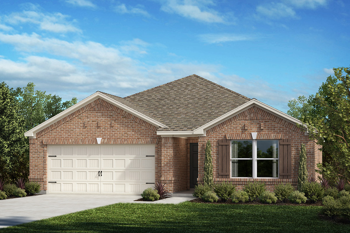 New Homes in Aubrey, TX - Plan 1567