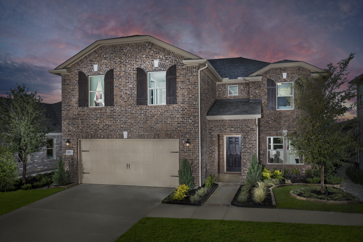 New Homes in Aubrey, TX - Winn Ridge Plan 2535