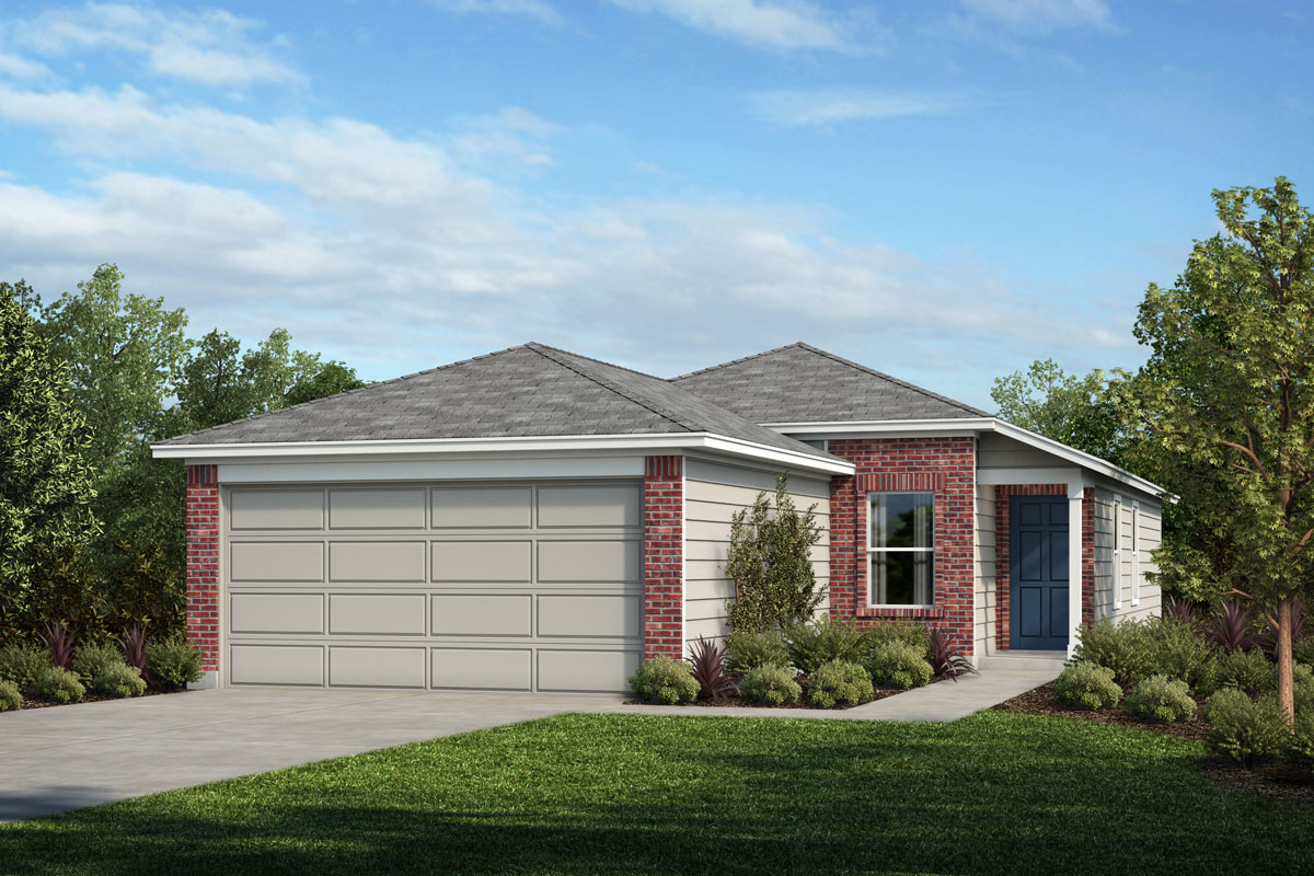 New Homes in Houston, TX - Timber Crossing Plan 1234 - Elevation B