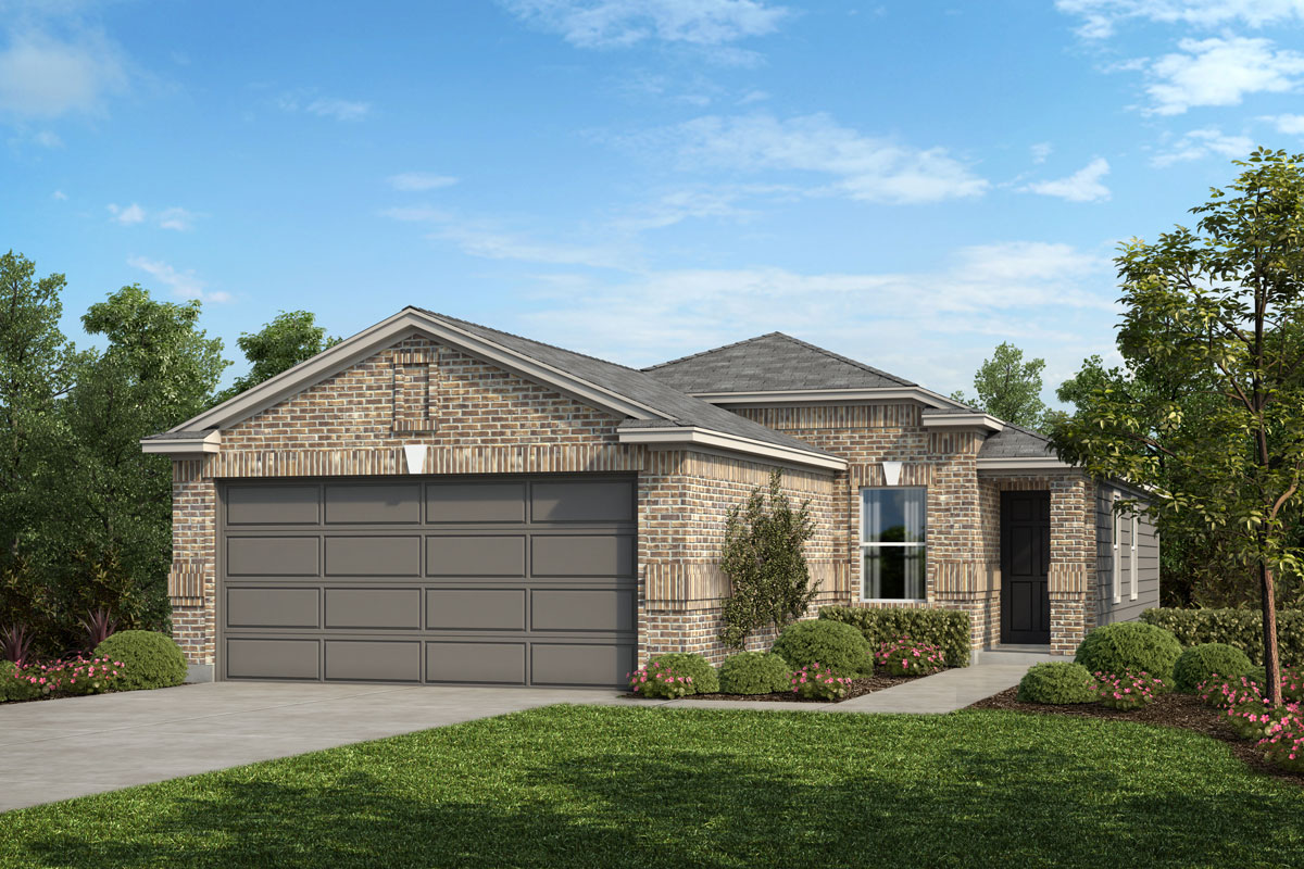 New Homes in Houston, TX - Lakewood Pines Trails Plan 1234 Elevation C