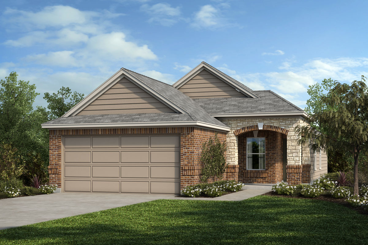 New Homes in Houston, TX - Timber Crossing Plan 1234 - Elevation D